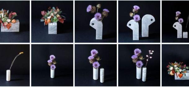 Scandola Marmi, vasi design progettati da MM Company ...