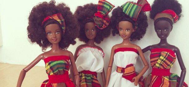 Malaville, la modella Mala Bryan realizza Barbie afro-caraibiche