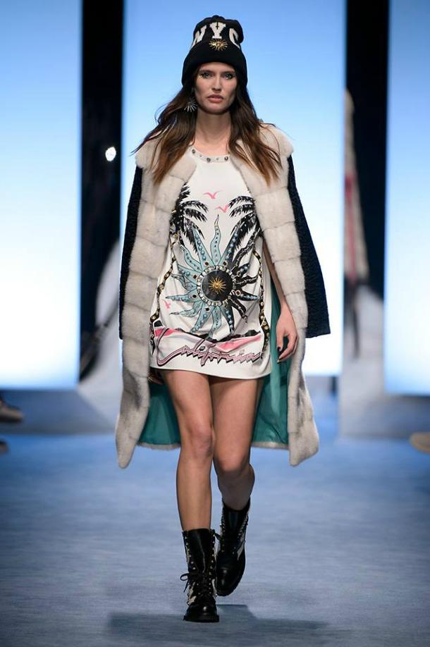Bianca Balti Milano Fashion Week