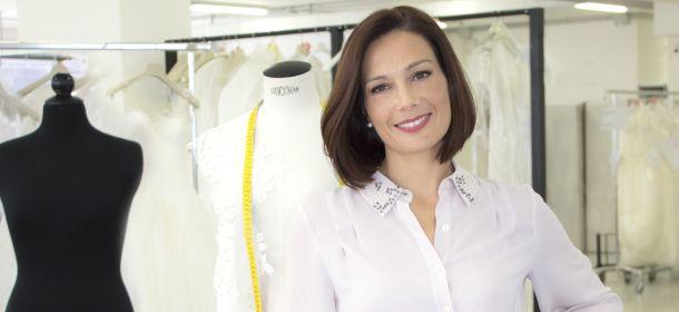 """Alessandra Rinaudo, la fashion designer in tv con """"La stilista delle spose"""""""