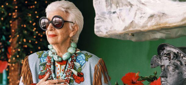 Iris Apfel, famosa collezionista di moda diventa un documentario per Sky Arte