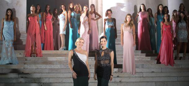 """Impero Couture: Manuela Arcuri e """"Brooke"""" di Beautiful protagoniste del nuovo spot"""