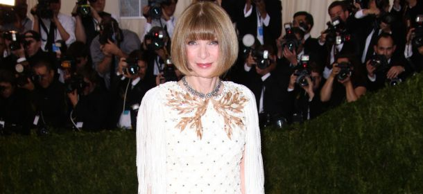 Met gala 2016: Anna Wintour regina indiscussa di stile in abito Chanel