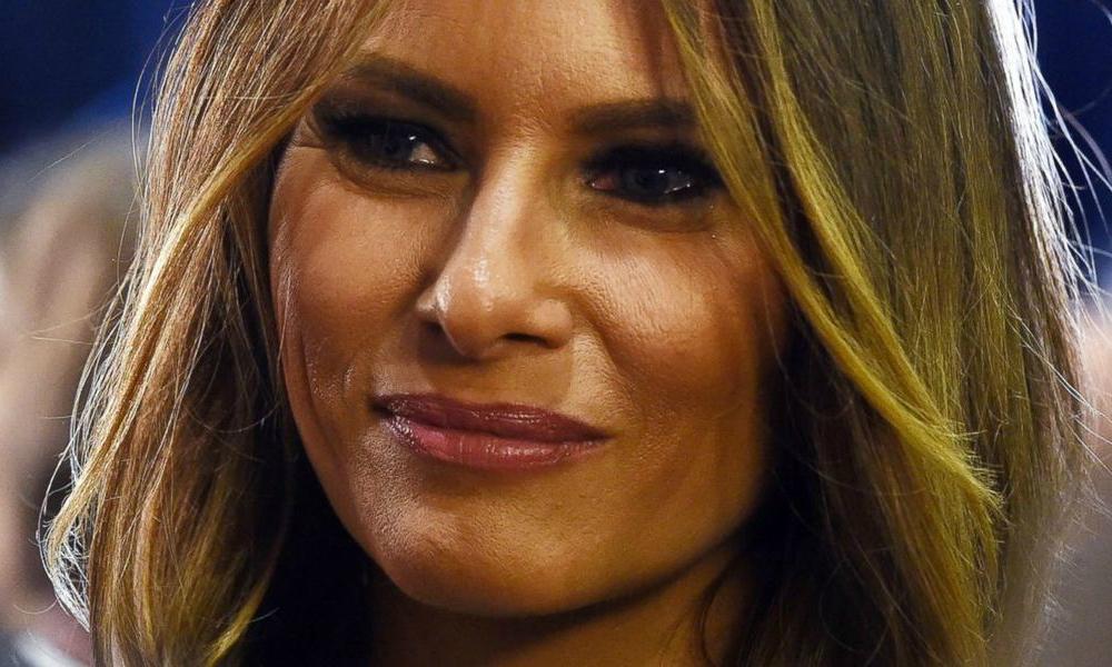 melania trump  una first lady con un passato da sexy modella - velvet style