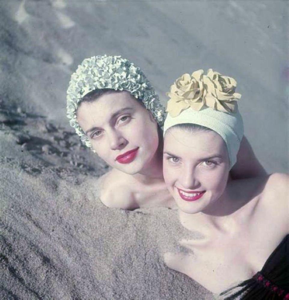 Cuffie da bagno anni 50 bellissimi costumi da bagno - Cuffie da bagno vintage ...