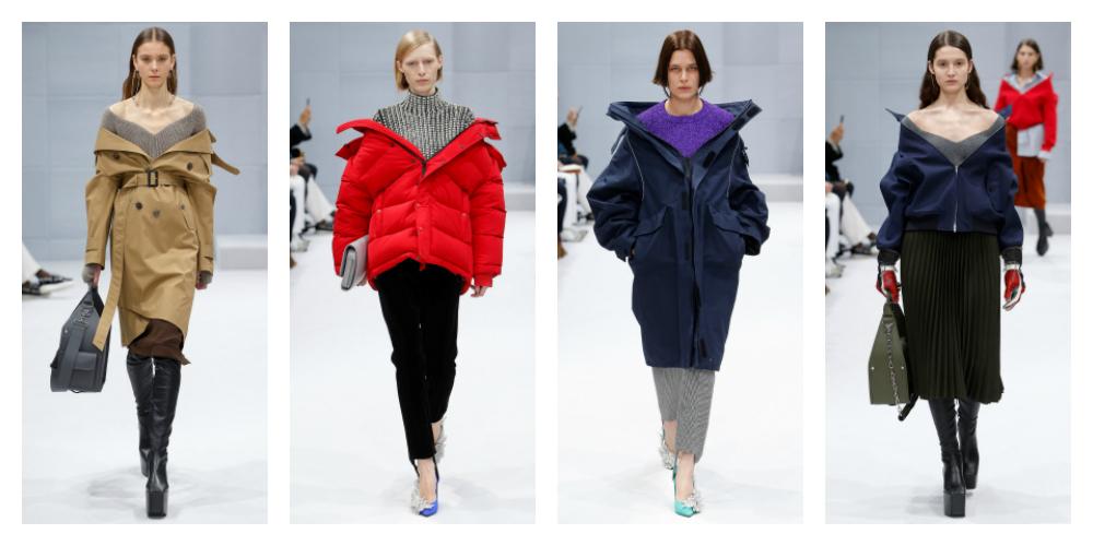Risultati immagini per giacche a vento Balenciaga 2016 17