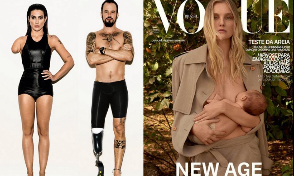 Paralimpiadi: Vogue Brasile photoshoppa i modelli e li rende disabili, è polemica