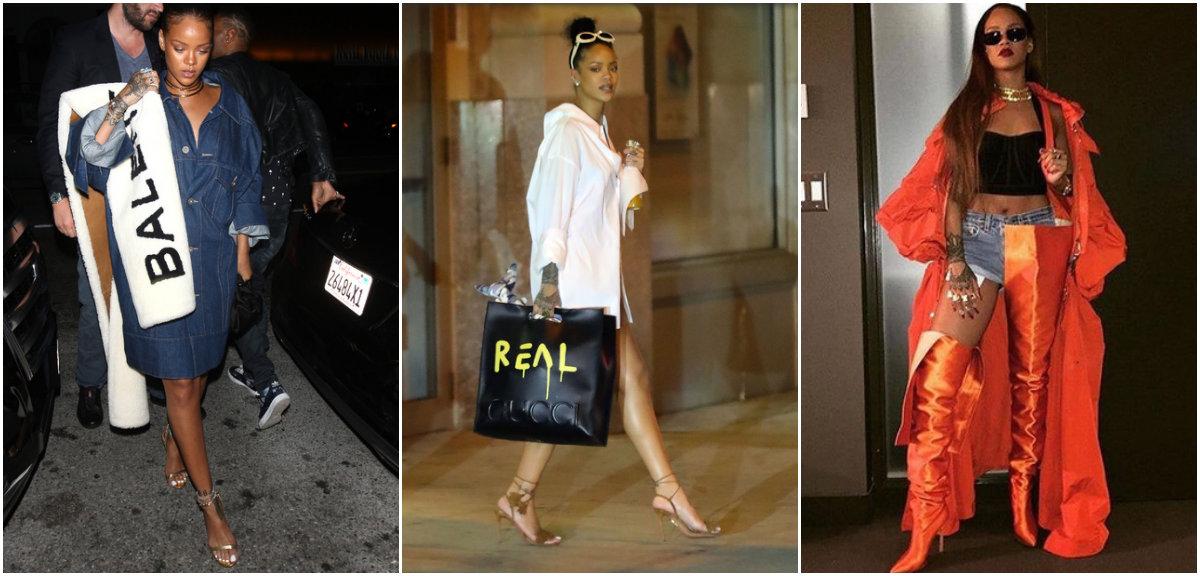 Rihanna con un enorme cuore addosso, ecco lo stile fuori dagli schemi della popstar