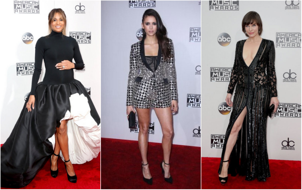 Selena Gomez, Gigi Hadid, Ariana Grande: i look sul red carpet degli American Music Awards 2016