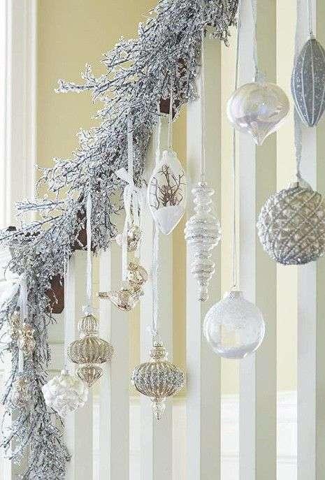 Decorazioni natalizie idee originali per addobbare le for Decorazioni per scale interne