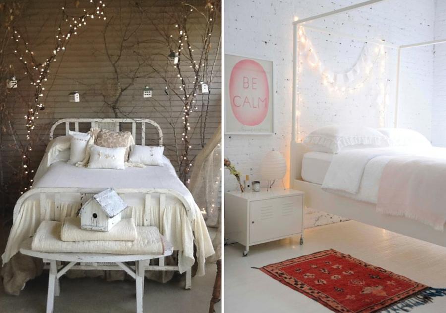 Decorazioni natalizie: idee originali per la vostra camera da letto ...