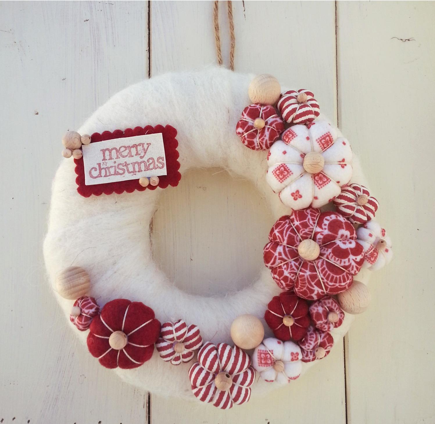 Decorazioni natalizie idee originali per la vostra camera da letto foto velvet style - Decorazioni fai da te camera da letto ...