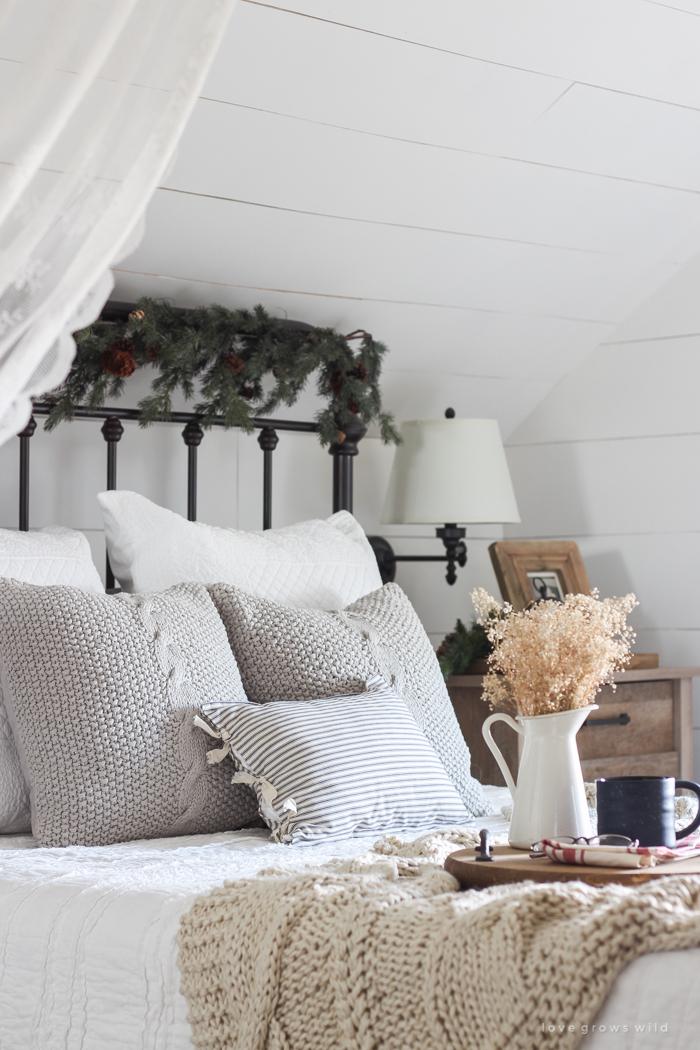 Decorazioni natalizie idee originali per la vostra camera - Decorazioni camera da letto ...