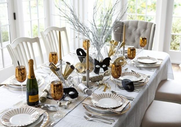 Decorazioni di capodanno idee e consigli per la tavola foto velvet style velvetstyle - Decorazioni tavola capodanno fai da te ...