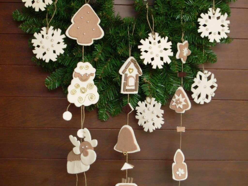 Decorazioni natalizie 2016 addobbi per la casa fai da te for Creazioni per la casa