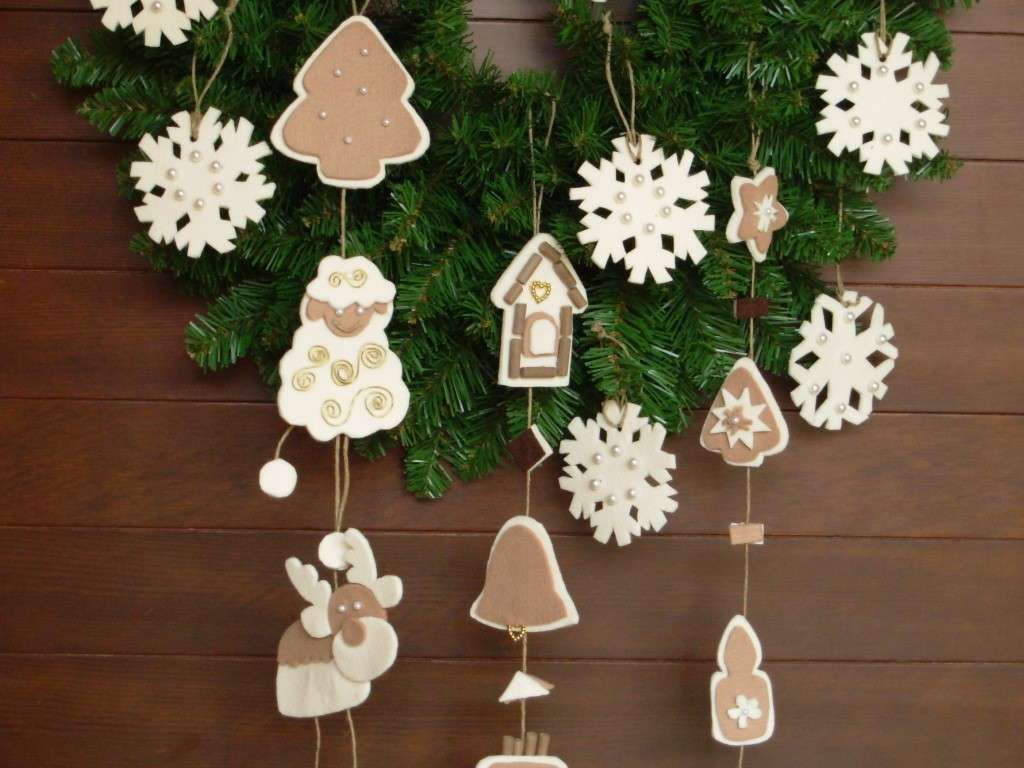 Decorazioni natalizie 2016 addobbi per la casa fai da te foto velvet style velvetstyle - Addobbi natalizi per la porta ...