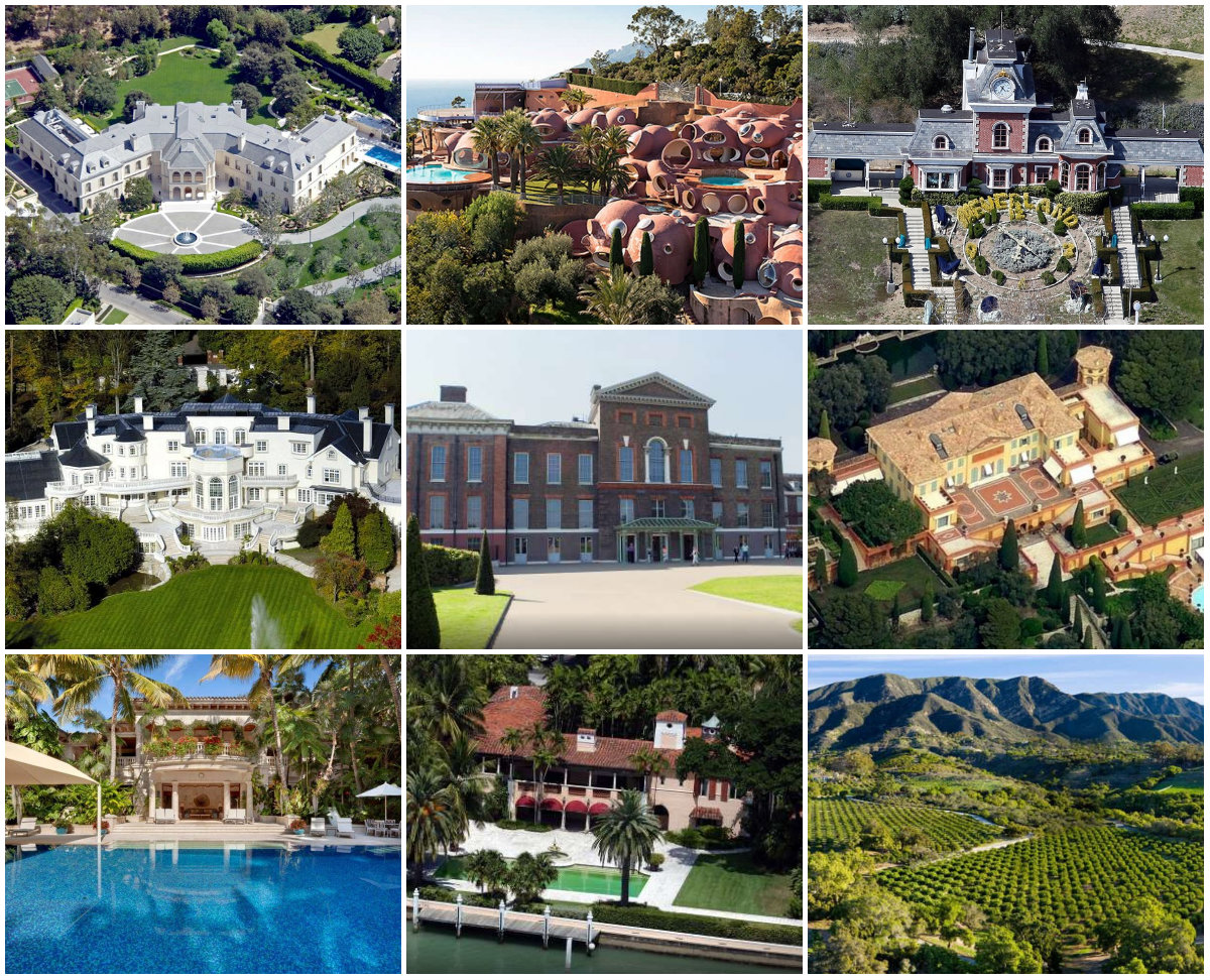 Le case più costose