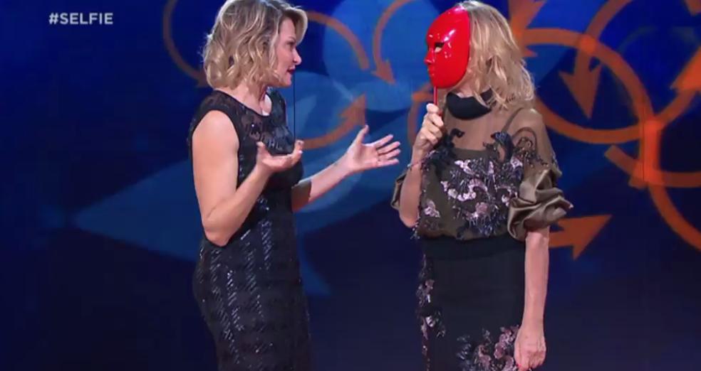 Simona Ventura e Gemma Galgani
