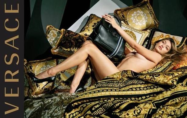 Gigi Hadid nuda