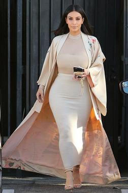 Kim Kardashian Giacca Kimono