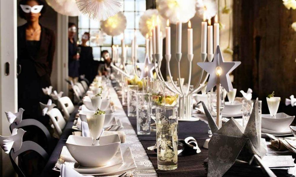 Decorazioni di Capodanno: idee per la tavola