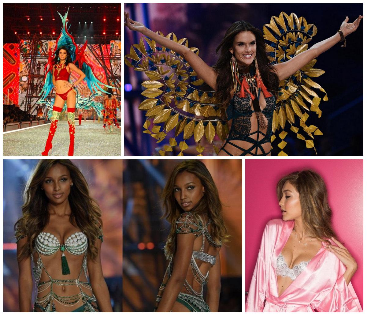 Victoria's Secret Fashion Show 2016: Gigi, Bella e Kendall tra Carnevale, pizzo e ali