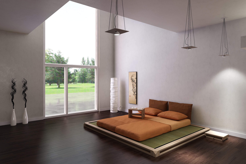 Camere da letto in stile zen come creare un atmosfera for Arredamento camera da letto design