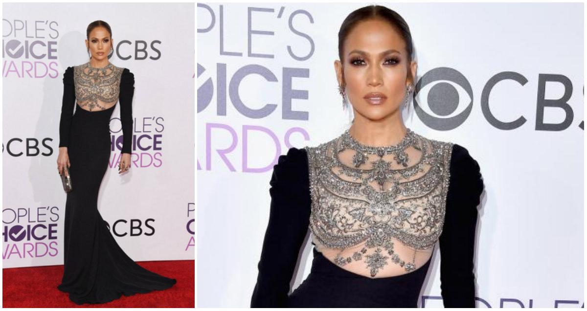 Red Carpet People's Choice Awards - Jennifer Lopez