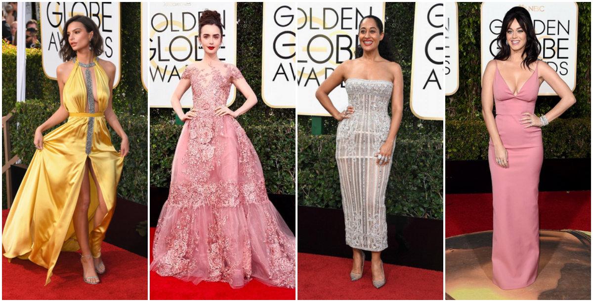 Look Golden Globe 2017