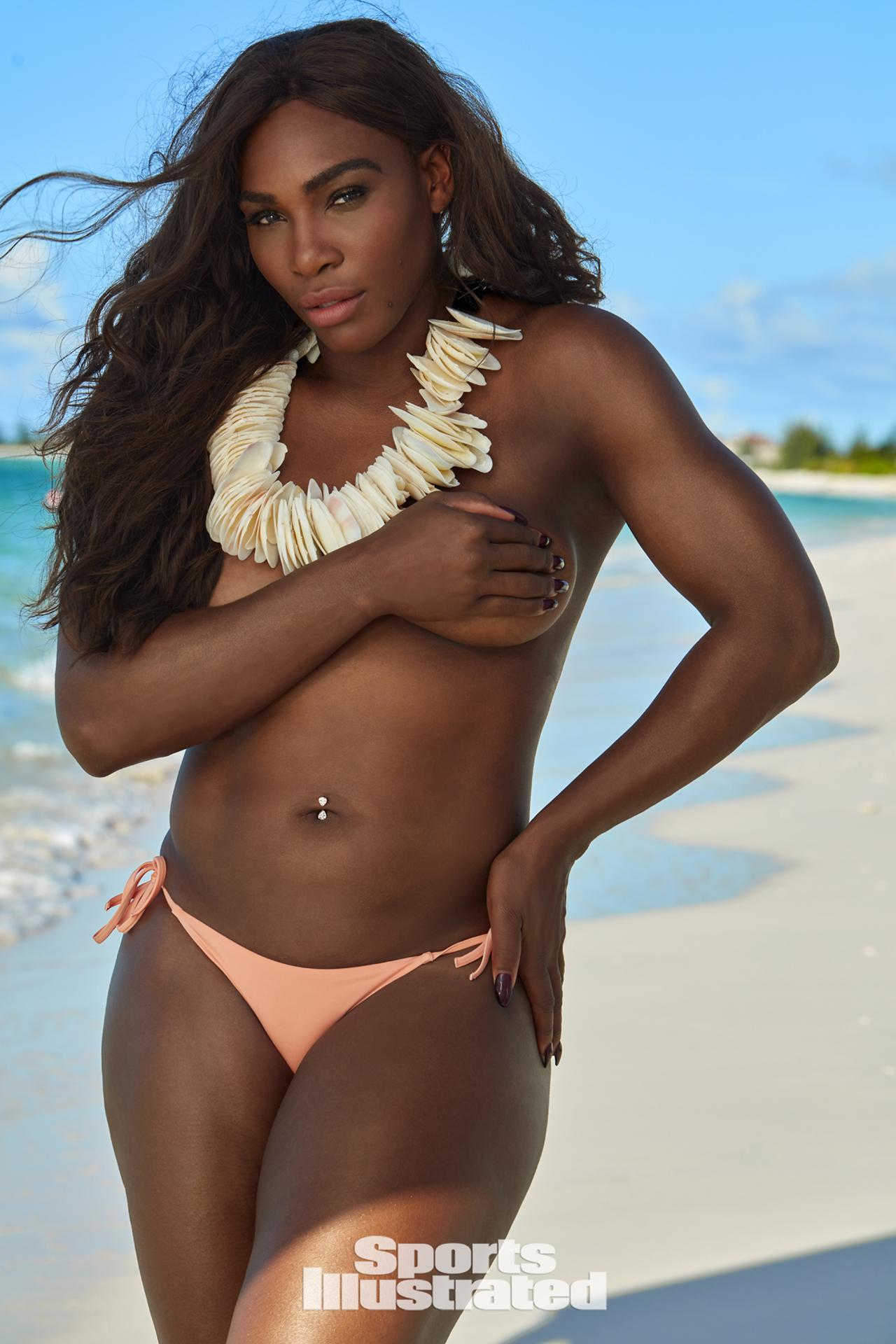 Serena Williams, gli scatti super sexy per Sport Illustrated