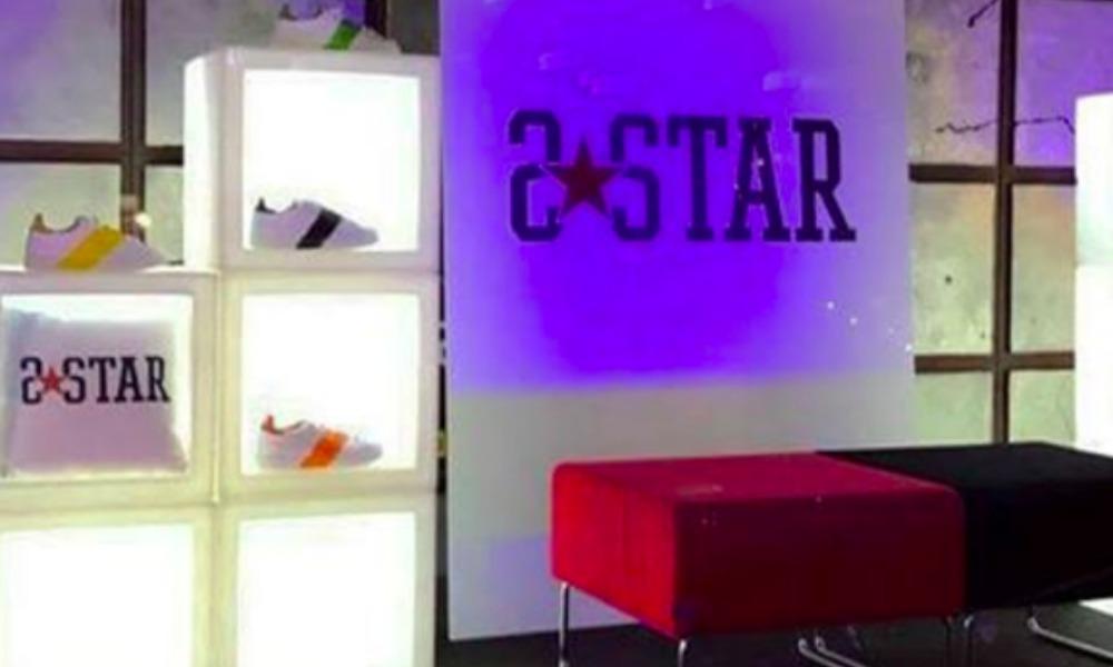 2STAR presenta a Milano la nuova stellare collezione SS 2017 delle iconiche sneakers