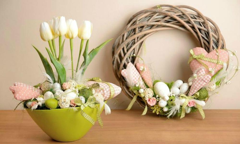 Decorazioni pasquali le ghirlande fai da te velvet style velvetstyle - Fai da te pasqua decorazioni ...