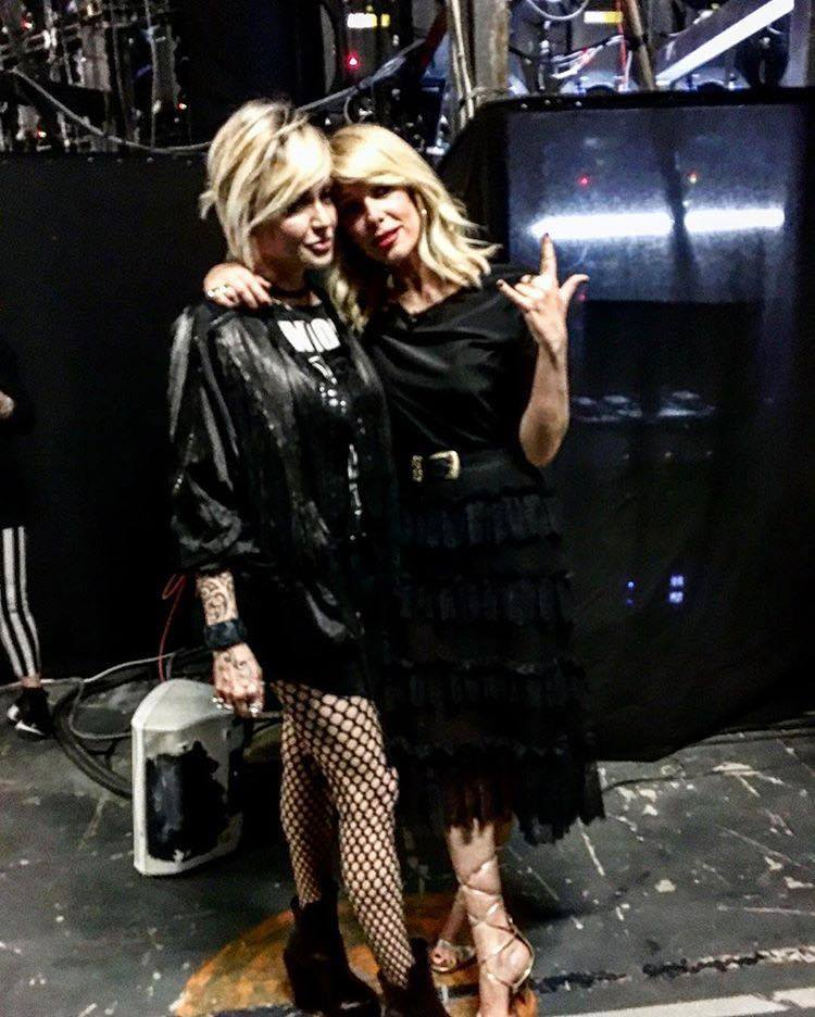 Alessia Marcuzzi e Paola Barale
