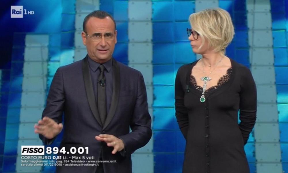 Sanremo 2017 outfit: gli abiti sfoggiati durante la prima puntata