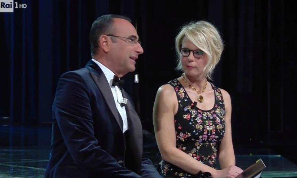 Il look più bello di Maria De Filippi a Sanremo 2017