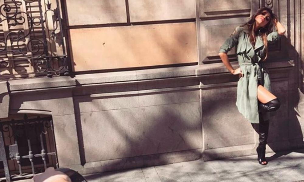 Cristina Buccino Nuda Sotto Limpermeabile Come Kim Kardashian