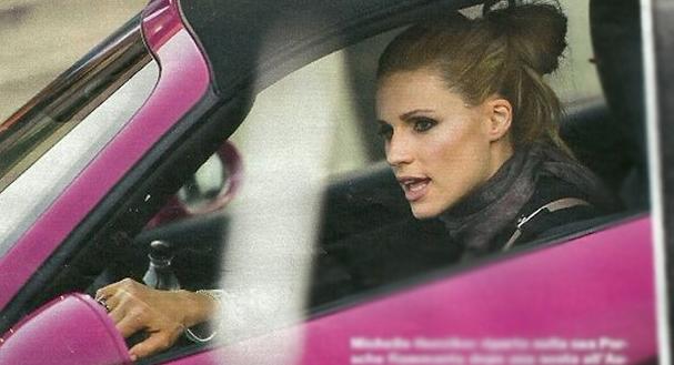 Michelle Hunziker Porsche