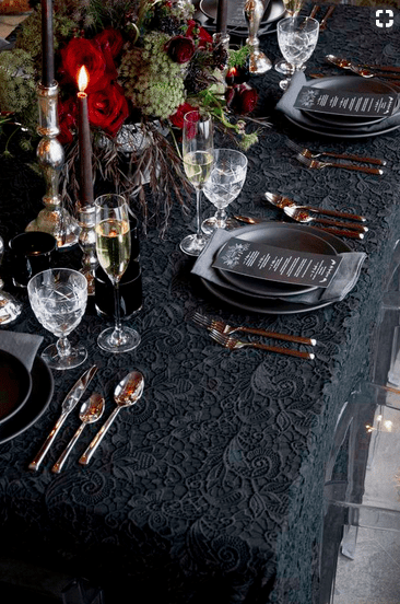 Capodanno 2018 idee per decorare la tavola velvetstyle - Decorare la tavola per capodanno ...