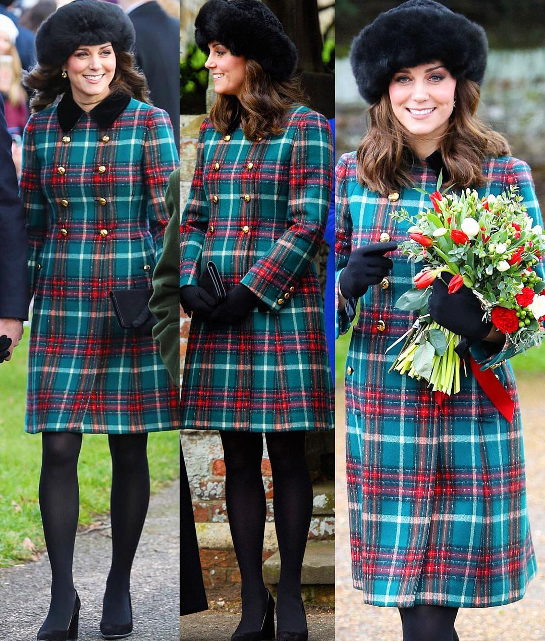 Meghan Markle e Kate Middleton  i look a Natale - VelvetStyle 97ceaad92d06