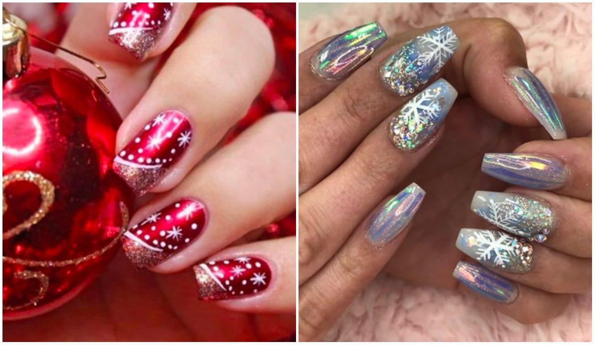 Natale 2017 Unghie E Nail Art Trendy Velvetstyle