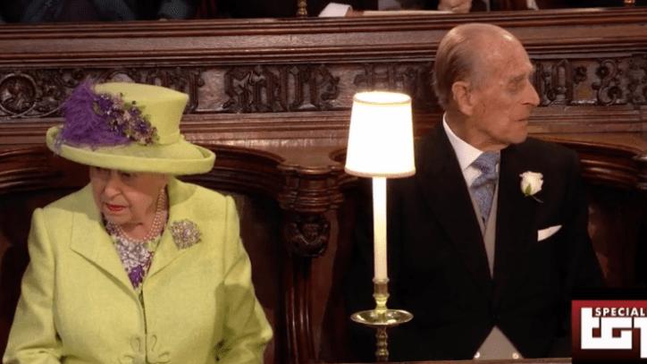 Regina elisabetta il look per il matrimonio di harry e for La regina anne house