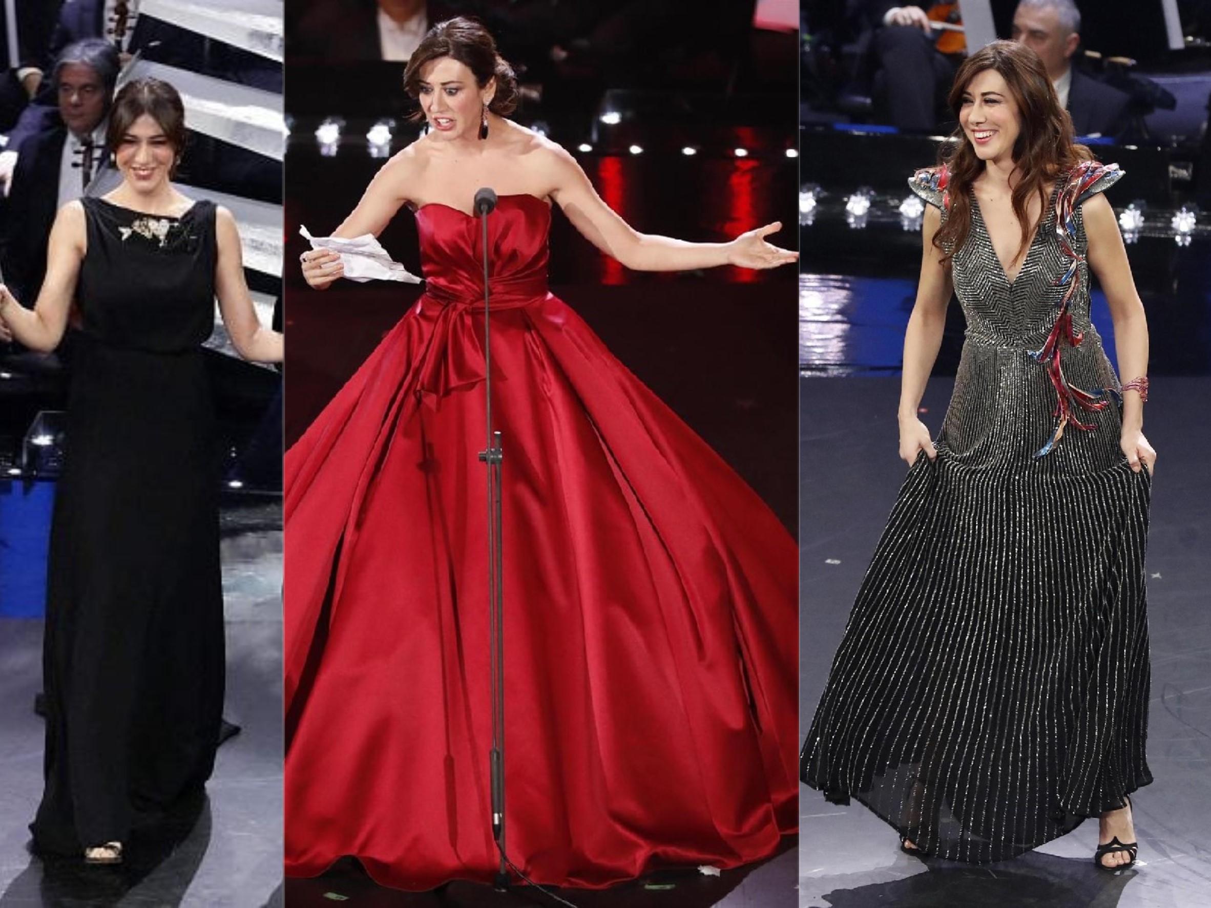 Sanremo 2019, Virginia Raffaele, abito della quarta serata